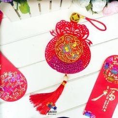 Harmin - 新年彩絨掛飾