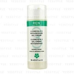 Ren - Clearcalm 3 Replenishing Gel Cream (For Blemish Prone Skin)