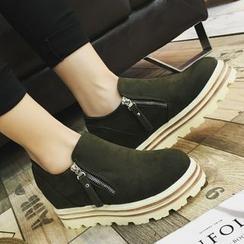 Shoeland - Platform Slip Ons