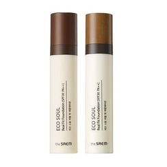 The Saem - Eco Soul Real Fit Foundation SPF30 PA++ (#23 Rich Beige) 40ml