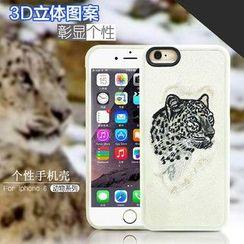 Kindtoy - iPhone 6 / 6 Plus / 6s / 6s Plus 动物图案保护套