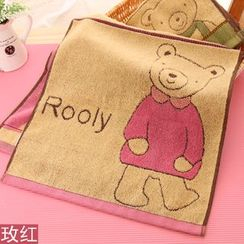 Showroom - Bear Print Face Towel