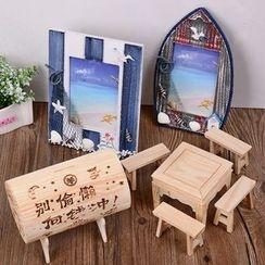 INTI - Wooden Money Box / Photo Frame