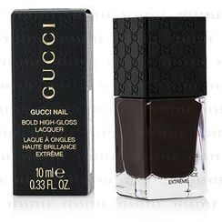 Gucci - Bold High Gloss Nail Lacquer (#160 Dark Romance)