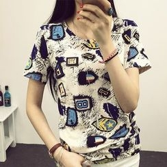 Pura - Printed Short Sleeve T-Shirt
