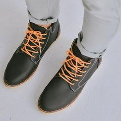 SeventyAge - Leather Lace Up Boots
