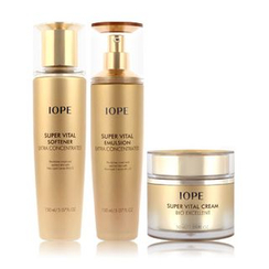 IOPE - Super Vital Set: Softener 150ml + Emulsion 150ml + Cream 50ml