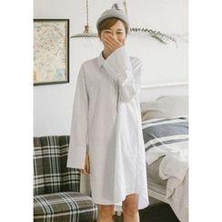GOROKE - Pinstriped Long Shirt