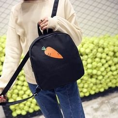 Seok - Carrot Print Backpack
