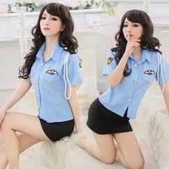 Cleopatra - Police Lingerie Costume Set