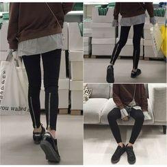 Bloombloom - Zip Skinny Pants
