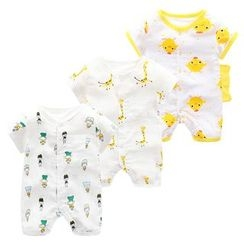 Madou - Baby Patterned Bodysuit