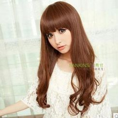 Sankins - Long Full Wig - Wavy