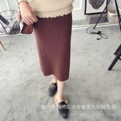 Poppy Love - Knit Midi Skirt