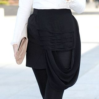 59 Seconds - Chiffon-Layered Skirt
