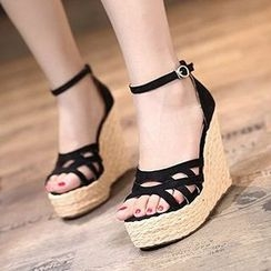 Mancienne - Wedge Sandals