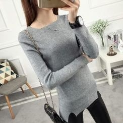 anzoveve - Slit Sweater