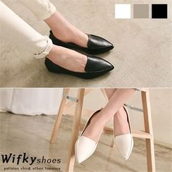 Wifky - Pointy-Toe Loafers