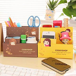 Good Living - Printed Desk Organizer