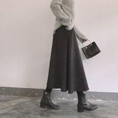 ByPeggie - Woolen Midi Skirt