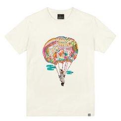 the shirts - Parachute Print T-Shirt