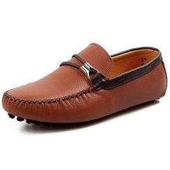 Van Camel - Genuine Leather Loafers