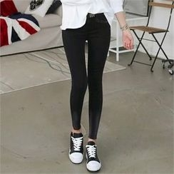 CHICFOX - Washed Skinny Pants