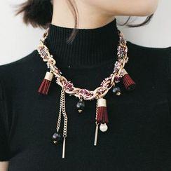 Tokyo Fashion - Tassel Chain Necklace