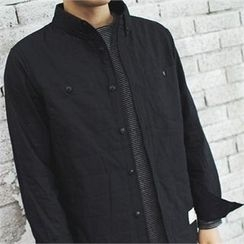 MITOSHOP - Dual-Pocket Padded Shirt