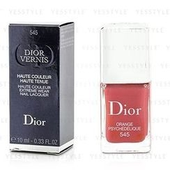 Christian Dior 迪奧 - Dior Vernis Haute Couleur Extreme Wear Nail Lacquer (#545 Psychedelic Orange)