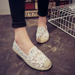 Ginko - Lace Slip-Ons