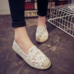 Ginko - 蕾丝轻便鞋