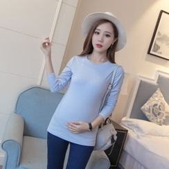 Dream Girl - Maternity Plain Knit Pullover