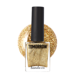 banila co. - Tomorrow Nail Glitter Gold 02
