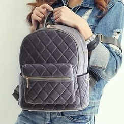 More Bag - Corduroy Quilted Backpack