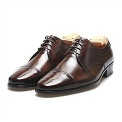 THE COVER - Genuine Leather Oxfords