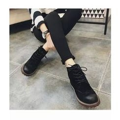 Micha - Lace-Up Brogue Ankle Boots