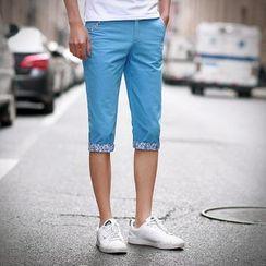 Alvicio - Floral Trim Shorts