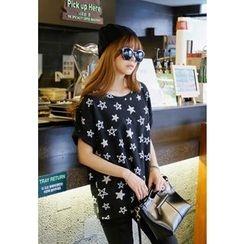 REDOPIN - Star Print T-Shirt