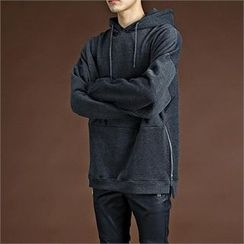 THE COVER - Zip-Trim Hoodie T-Shirt