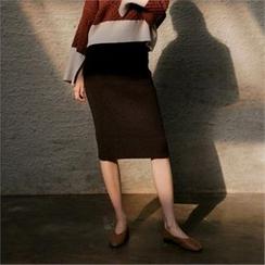 MAGJAY - Midi Knit Skirt