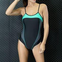 Albatron - Colour Block Swimsuit