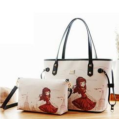 北包包 - 印花手提包