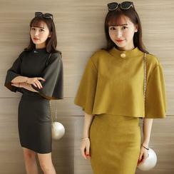 Soraka - 套裝:披肩 + 裙