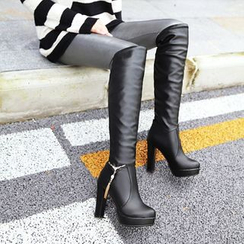 Shoes Galore - High Heel Tall Boots