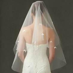 constello - Bow Wedding Veil