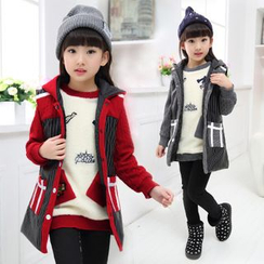 Pegasus - Kids Set: Hooded Vest + Pullover