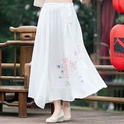 Diosa - Floral Print Skirt