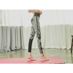 UUZONE - Patterned Gym Leggings