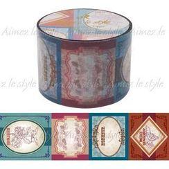 Aimez le style - Aimez le style Masking Tape Primaute Wide Vintage Label